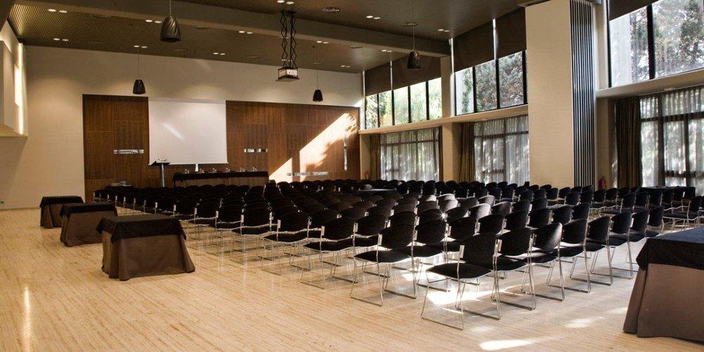 Salle de réunion hôtel ciutat de granollers