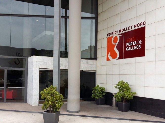 Entrée de l'immeuble Hôtel Porta de Gallets Mollet del Vallés