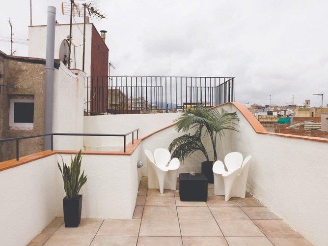 Terrasse Apartaments Ciutat Vella Barcelone